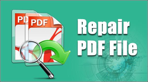 File corrupted after pdf
