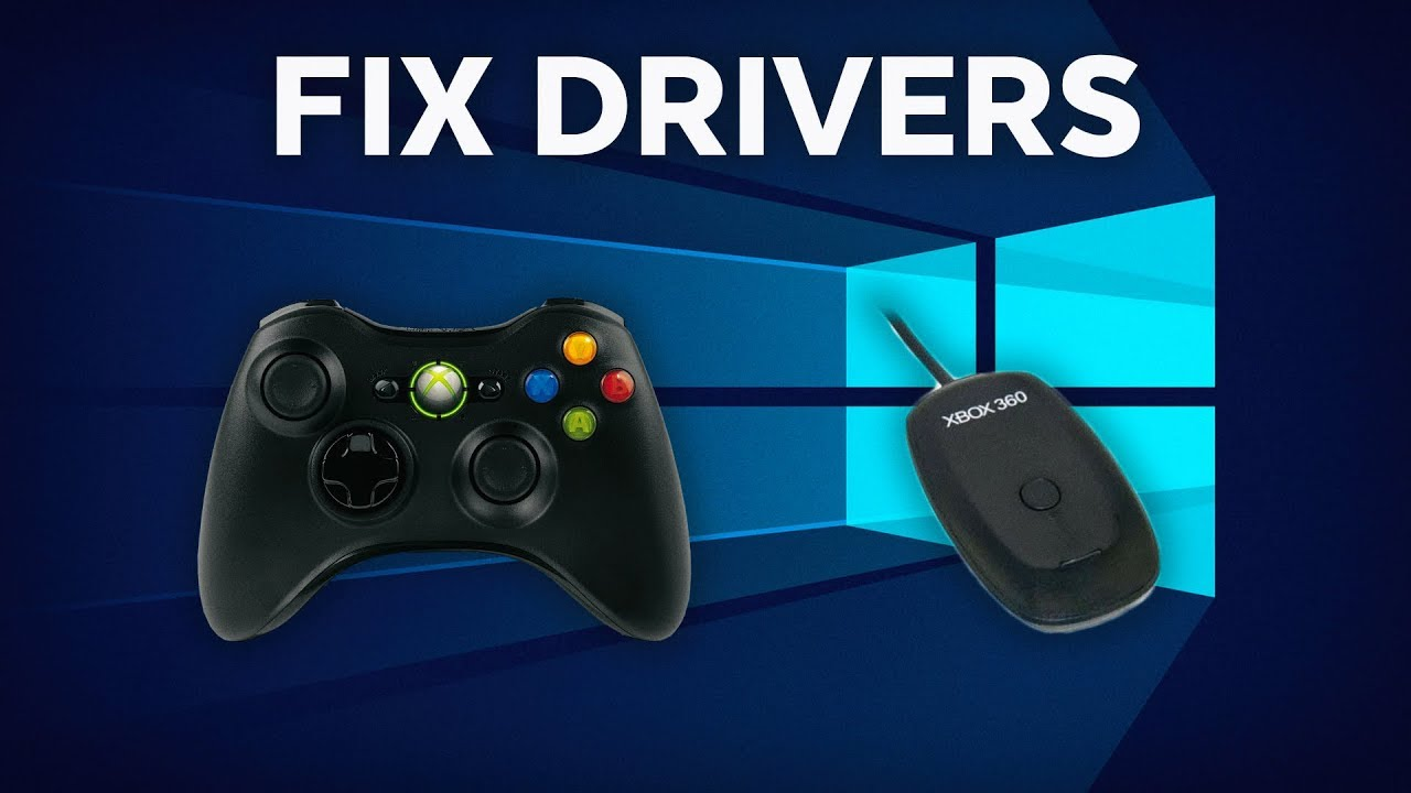 How to Fix Xbox 360 Controller Driver Not Working on ...Xbox 360 Controller Driver