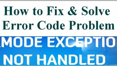 Photo of How to Fix KMode Exception Not Handled Error