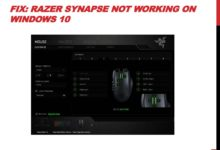 Photo of How to Fix Razer Synapse Not Working on Windows 10