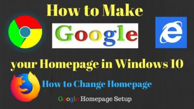 Photo of How to Make Google My Homepage in Windows 10