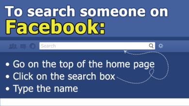Photo of How to find someone on facebook