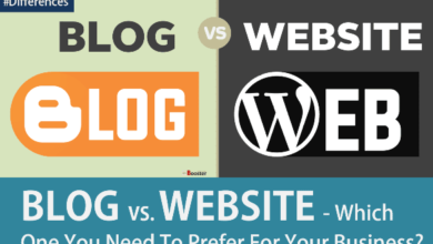 Photo of The Difference Between A Blog And A Website
