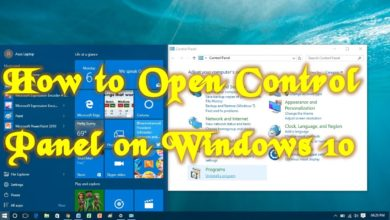 Photo of How to Open Control Panel in Windows 10