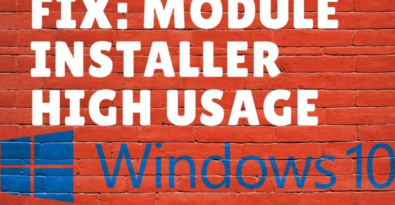 How to fix Windows Modules Installer Worker High CPU In Windows 10