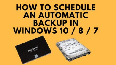 Photo of How to automatically backup a folder in windows 10, 8.1 and 7