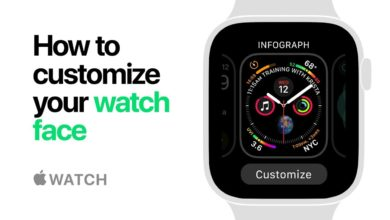 Photo of How to add and remove Apple Watch face and customize it.