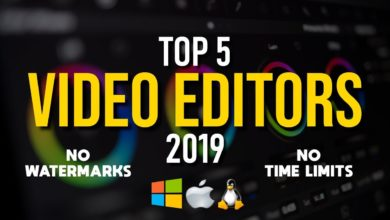 Photo of 5 Best Free Video Editing Software Programs for 2019