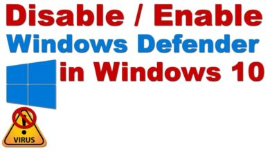Photo of How to Disable or Enable Windows Defender in Windows 10