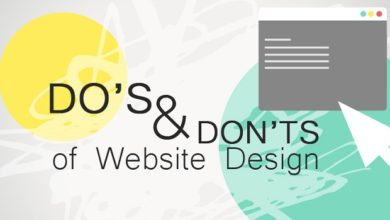 Photo of Some dos and don'ts of web design for web developers