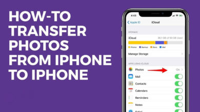 Photo of How To Transfer Photos from iPhone to iPhone