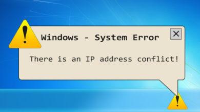 Photo of 3 Ways to Resolve IP address Conflict on windows 10
