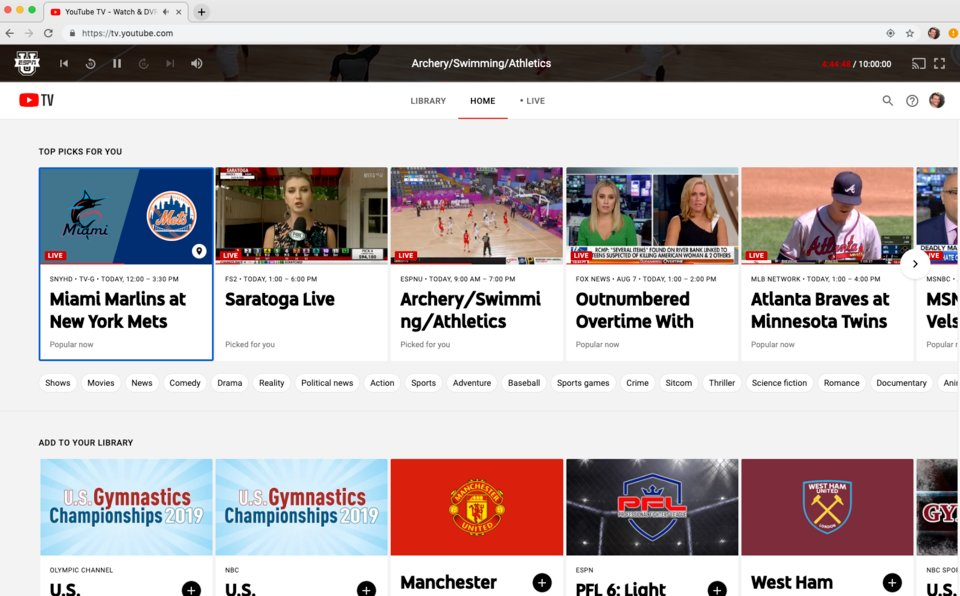 How to set up and customize a YouTube TV subscription