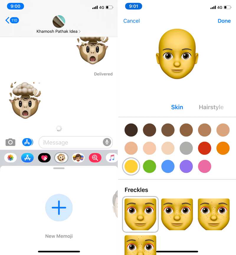 how to use memoji stickers iOS 13 1