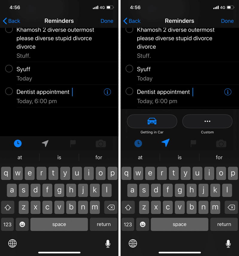 iOS 13 Reminders App Hands on 3
