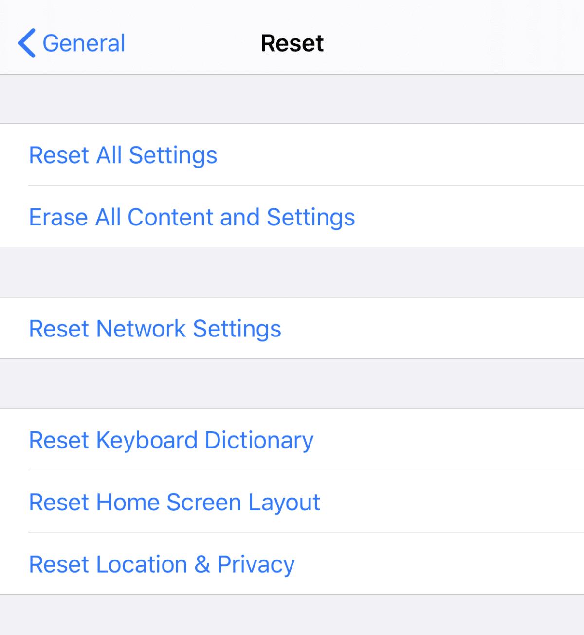 iPhone 11 Hard Reset