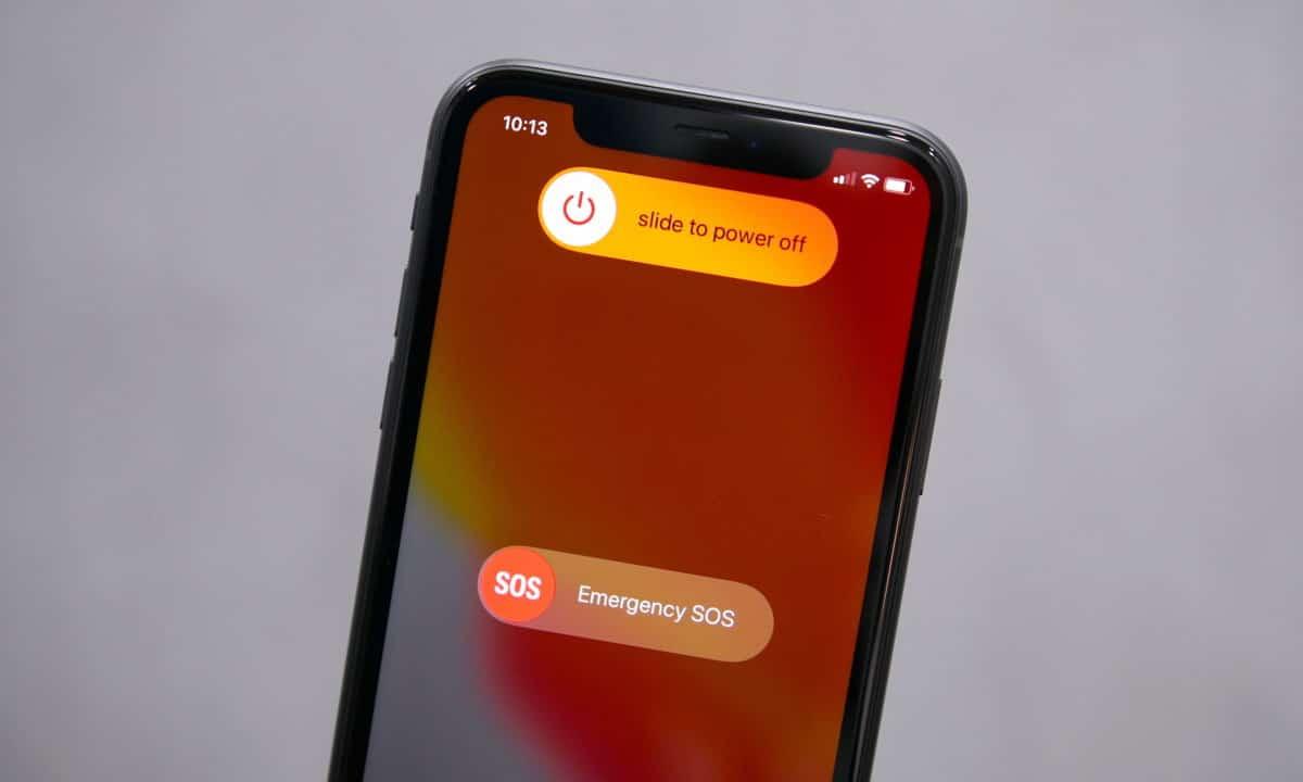 Turn off iPhone 11/Pro