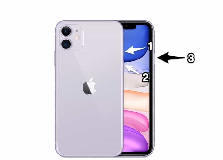 iPhone 11 Force Reboot
