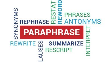 """Photo of What Is the Difference Between """"Rephrase"""" And """"Paraphrase""""?"""