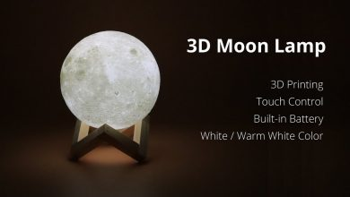 Photo of A Innovative Decor With 3D Moon Lamp Lights