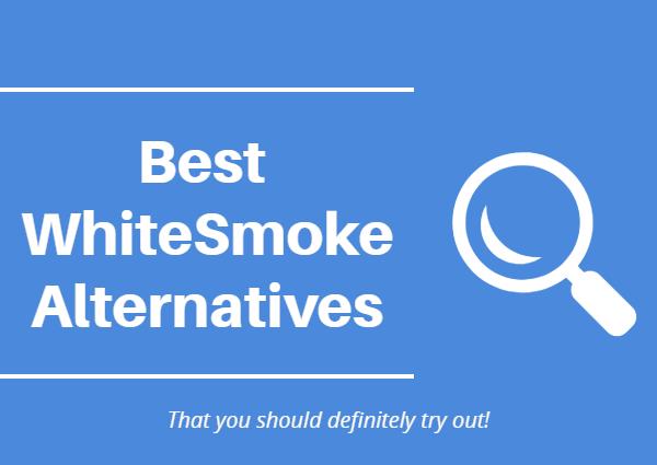 WhiteSmoke alternatives