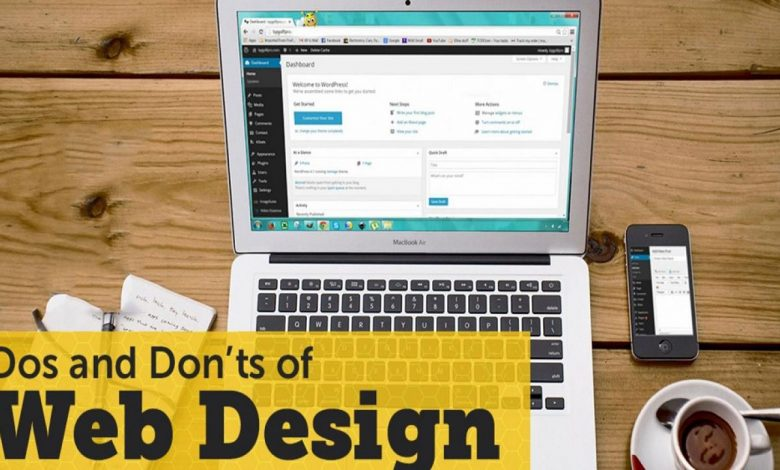 Do's and Don'ts of Website Design
