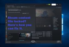 Photo of Steam content file locked? Here's how you can fix it.