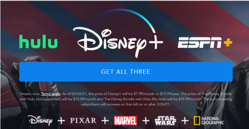 Disney Plus Pricing Plans