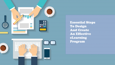 Photo of Essential Steps To Design And Create An Effective eLearning Program