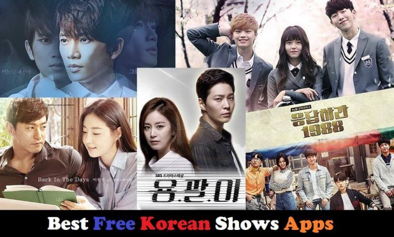 free Korean Shows Apps