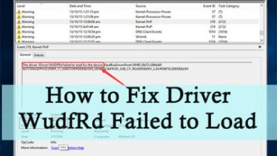 Photo of Fix: Driver WudfRd Failed To Load In Windows 10